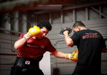 Valentin Romero - Team Benavidez