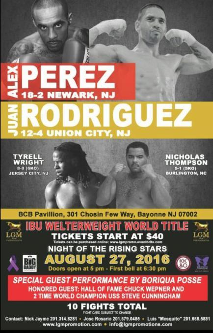 Alex Perez Poster