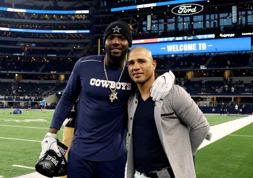 Photo Alert Miguel Cotto Attends Dallas Cowboys Game